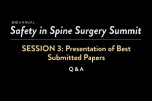 Best Submitted Papers: Q & A