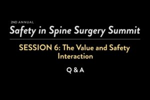 The Value and Safety Interaction: Q & A
