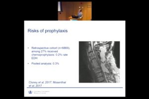 Optimal DVT/PE Prophylaxis after Spine Surgery