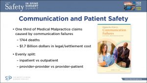 Communication and Patient Safety