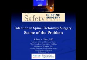 Infection in spinal deformity surgery: Scope of the problem
