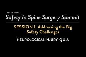 Neurological Injury: Q & A