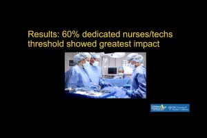 FREE PAPER #2: Dedicated Spine Nurses and Scrub Technicians Improve Outcomes, Efficiency of Surgery for Adolescent Idiopathic Scoliosis